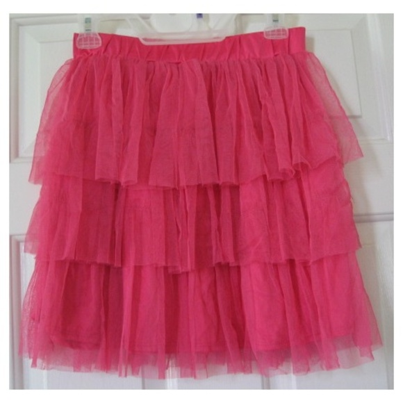 b61bb8219d Mad Style/True Jackson Bottoms | Girls Hot Pink Tiered Boho Tutu ...